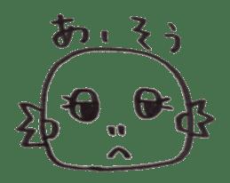 Cute Pogona vitticeps sticker #2059699