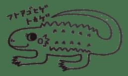 Cute Pogona vitticeps sticker #2059700