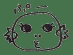 Cute Pogona vitticeps sticker #2059701