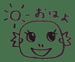Cute Pogona vitticeps sticker #2059703