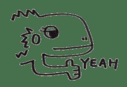 Cute Pogona vitticeps sticker #2059704