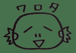 Cute Pogona vitticeps sticker #2059709