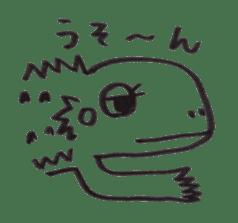 Cute Pogona vitticeps sticker #2059723