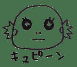 Cute Pogona vitticeps sticker #2059728