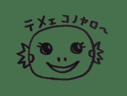 Cute Pogona vitticeps sticker #2059732