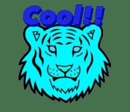 The Speaking Lion (English version) sticker #2060870
