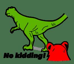 The Speaking Lion (English version) sticker #2060887