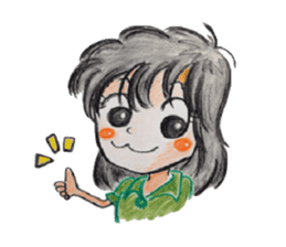 daily life   girl-vol.1 sticker #2061333