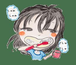 daily life   girl-vol.1 sticker #2061336