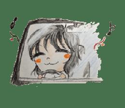 daily life   girl-vol.1 sticker #2061344