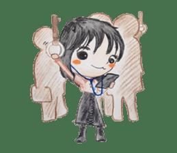 daily life   girl-vol.1 sticker #2061345