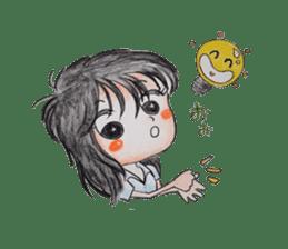 daily life   girl-vol.1 sticker #2061346