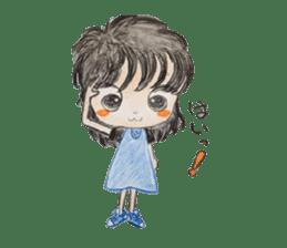 daily life   girl-vol.1 sticker #2061348