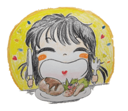 daily life   girl-vol.1 sticker #2061349