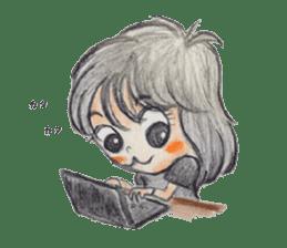 daily life   girl-vol.1 sticker #2061351