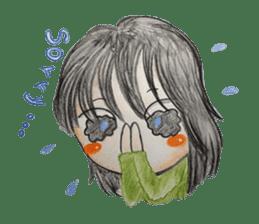 daily life   girl-vol.1 sticker #2061356
