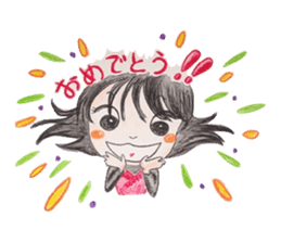 daily life   girl-vol.1 sticker #2061359