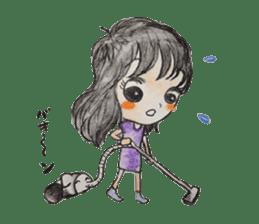 daily life   girl-vol.1 sticker #2061362