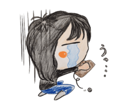daily life   girl-vol.1 sticker #2061363