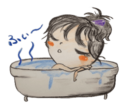 daily life   girl-vol.1 sticker #2061368