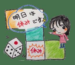 daily life   girl-vol.1 sticker #2061369