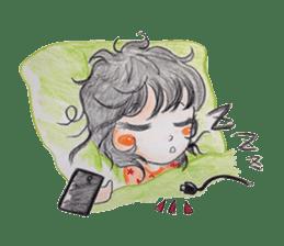 daily life   girl-vol.1 sticker #2061372