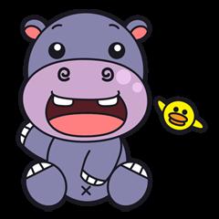 Jumbo - the big & cute hippo -