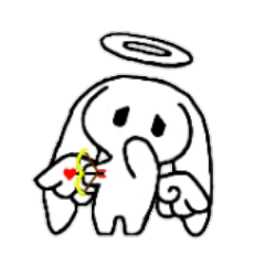 Ten usa(Angel rabbit)
