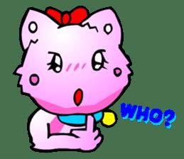 Kawaii Cat Pikaneko (Talk & Event) sticker #2062784