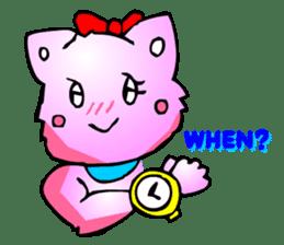 Kawaii Cat Pikaneko (Talk & Event) sticker #2062786