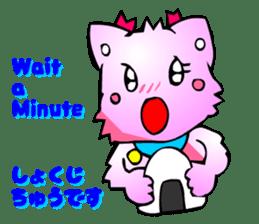 Kawaii Cat Pikaneko (Talk & Event) sticker #2062794