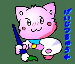 Kawaii Cat Pikaneko (Talk & Event) sticker #2062801