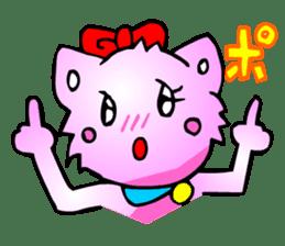 Kawaii Cat Pikaneko (Talk & Event) sticker #2062811