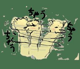 Fluffy Alpaca Family sticker #2062880