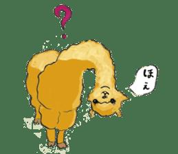 Fluffy Alpaca Family sticker #2062889