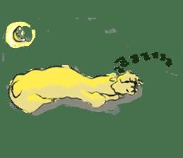 Fluffy Alpaca Family sticker #2062892