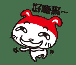 Red_bunny sticker #2063546