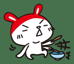 Red_bunny sticker #2063551