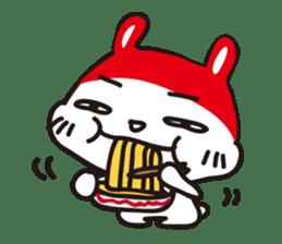 Red_bunny sticker #2063556