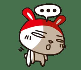 Red_bunny sticker #2063557