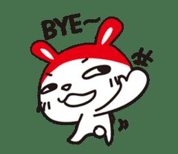 Red_bunny sticker #2063558