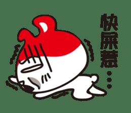 Red_bunny sticker #2063563