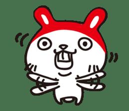 Red_bunny sticker #2063571