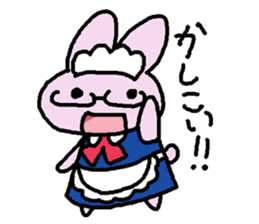 Rabbit maids conversation [Holiday] sticker #2063664