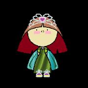 สติ๊กเกอร์ไลน์ Princess Sophia S.H.H