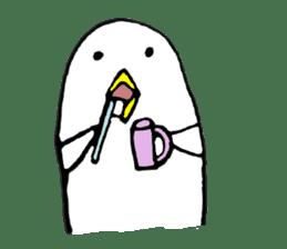 Daily life of demon-kawaii bird sticker #2065297
