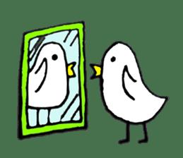 Daily life of demon-kawaii bird sticker #2065298