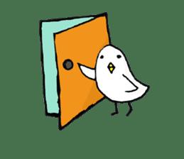 Daily life of demon-kawaii bird sticker #2065304
