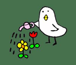Daily life of demon-kawaii bird sticker #2065313