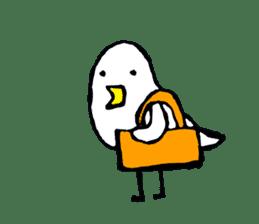 Daily life of demon-kawaii bird sticker #2065314